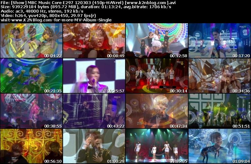 [Show] MBC Music Core E297 120303