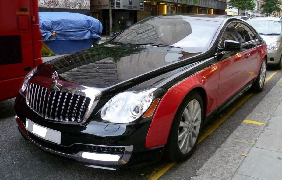 maybach 57s coupe by xenatec only cars and cars